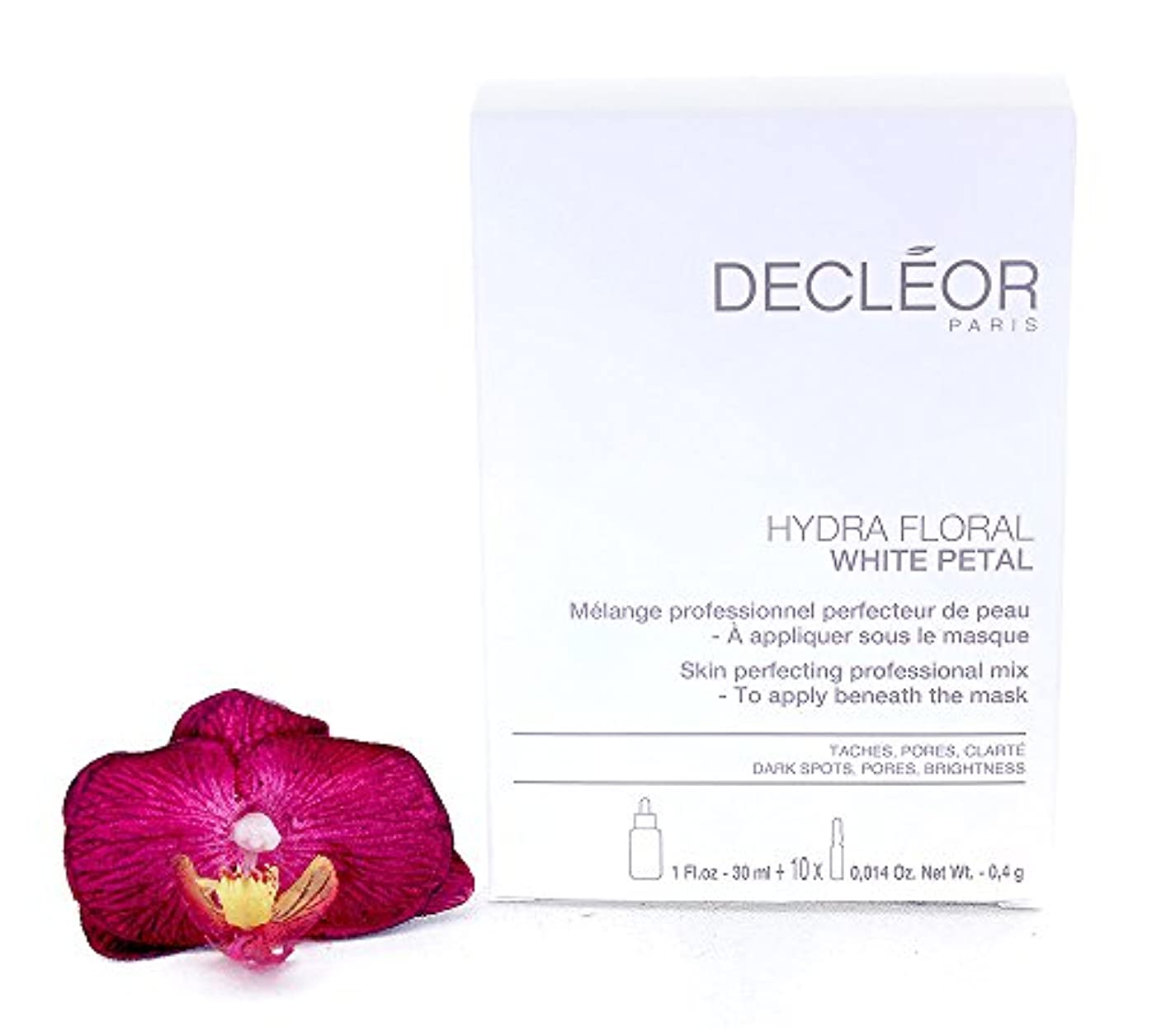 ファックス鳴らすアウターデクレオール Hydra Floral White Petal Skin Perfecting Professional Mix (1x Concentrate 30ml, 10x Powder 4g) - Salon...