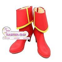 【サイズ選択可】女性24.5CM★コスプレ靴 ブーツ★242596★Fate/Grand Order★モードレッド ライダー