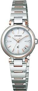 [シチズン]CITIZEN 腕時計 xC クロスシー Eco-Drive エコ・ドライブ 電波時計 Perfex搭載 エアリーホワイト マスコミモデル XCB38-9242 レディース
