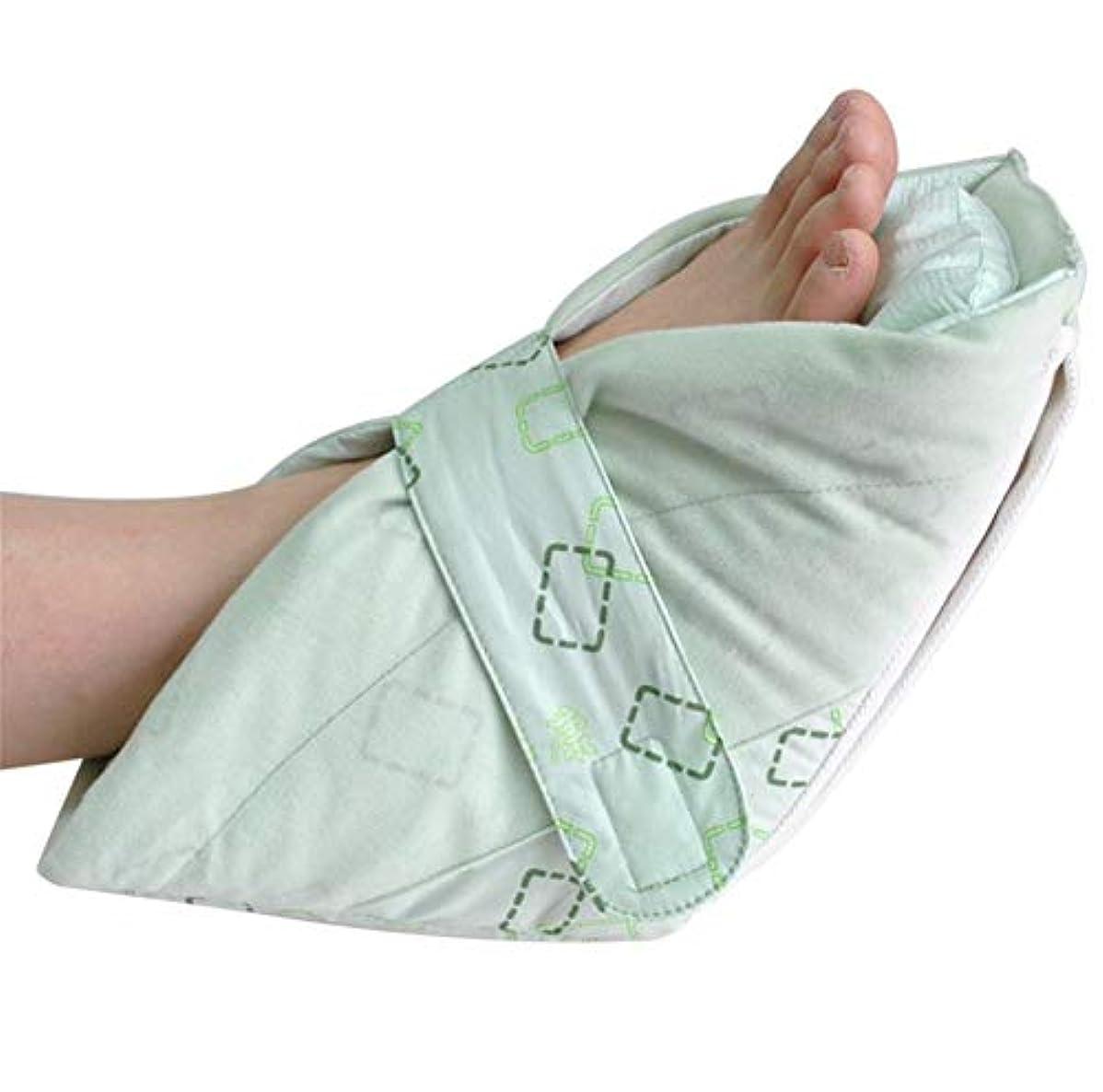 二重満たされた湿気吸上芯、高齢者の足補正カバー付きプレミアム圧力軽減ヒールプロテクター