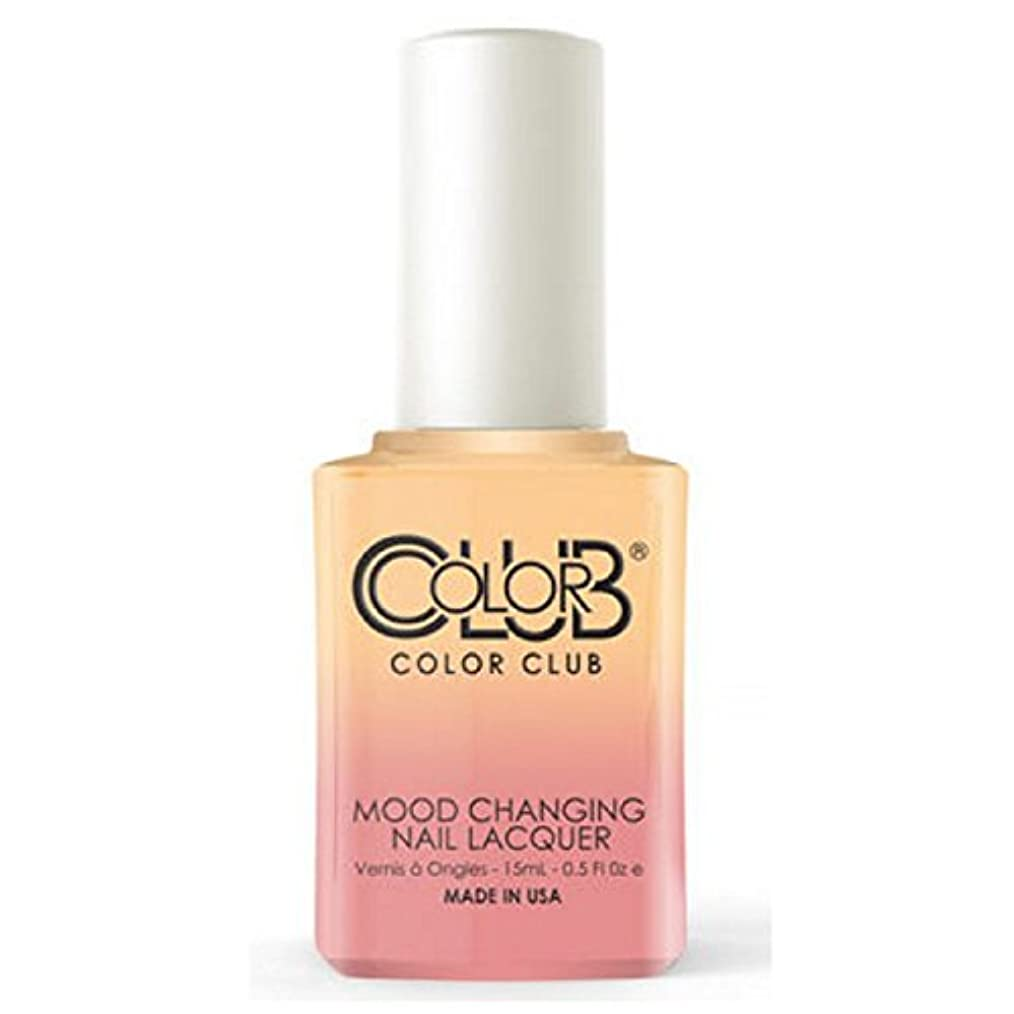 ブランデー公爵メールColor Club Mood Changing Nail Lacquer - Happy Go Lucky - 15 mL / 0.5 fl oz