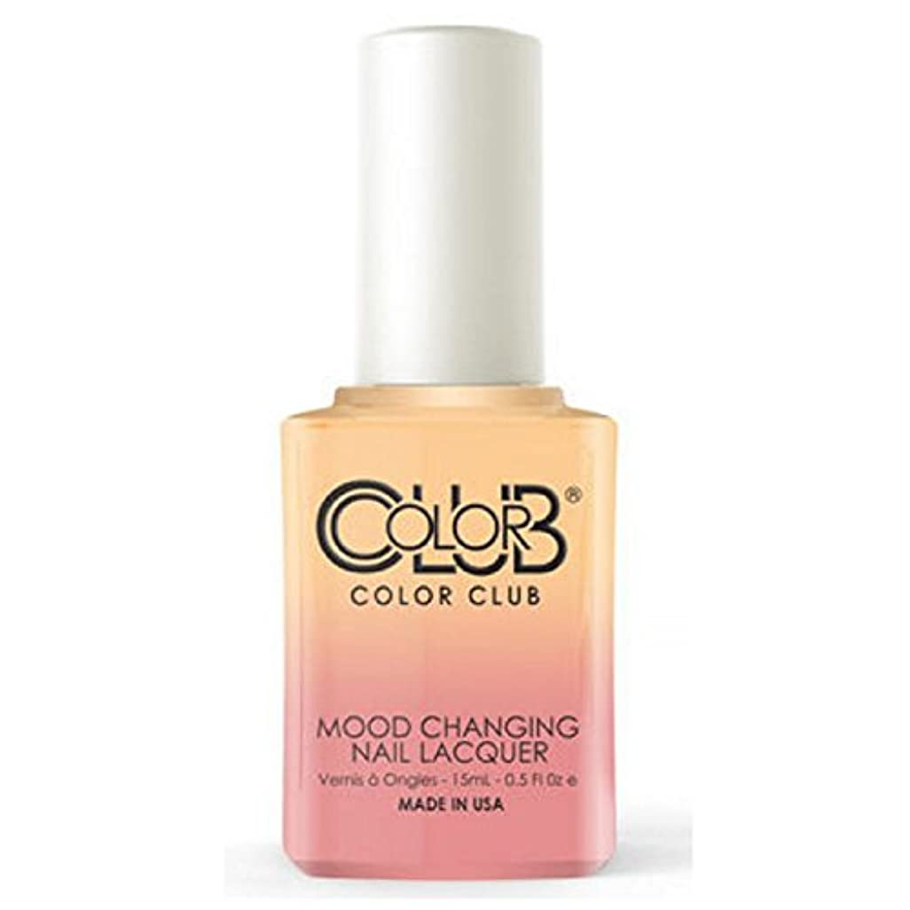 ヒロイックペルメル口実Color Club Mood Changing Nail Lacquer - Happy Go Lucky - 15 mL / 0.5 fl oz