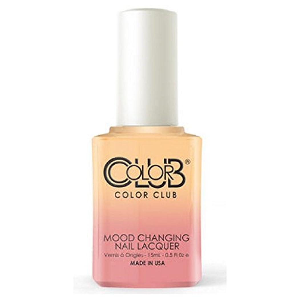 履歴書圧縮する委員長Color Club Mood Changing Nail Lacquer - Happy Go Lucky - 15 mL / 0.5 fl oz