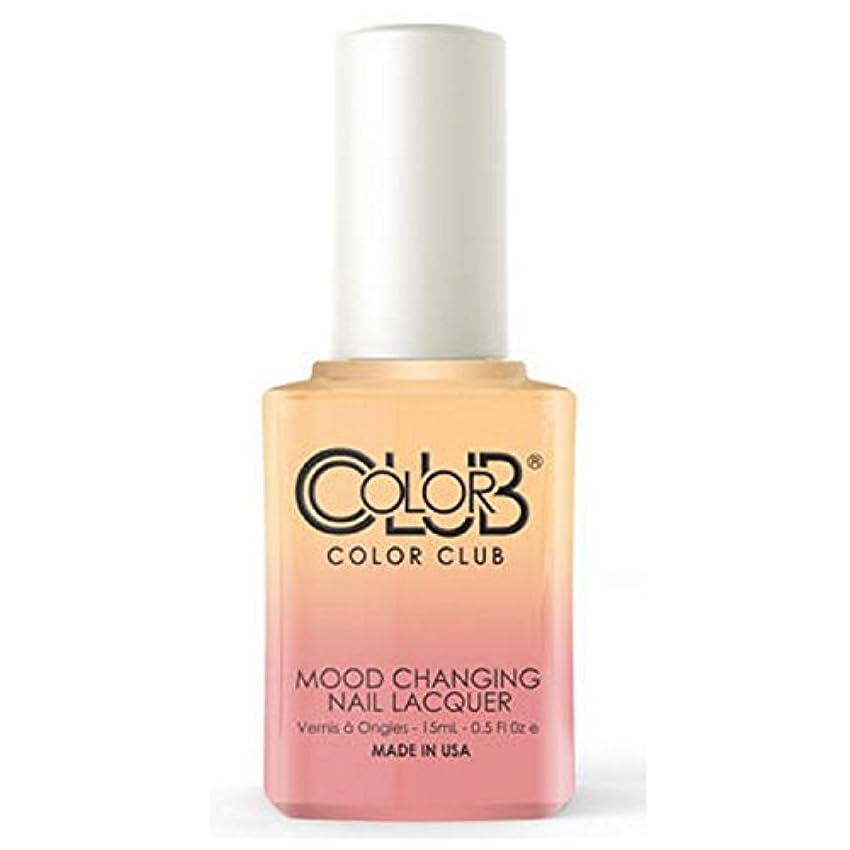 暗唱する統合ギャラントリーColor Club Mood Changing Nail Lacquer - Happy Go Lucky - 15 mL / 0.5 fl oz