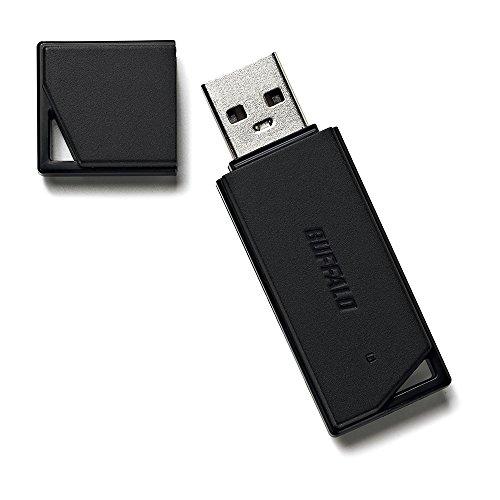 BUFFALO USB2.0 どっちもUSBメモリー 16GB ブラック RUF2-KR16GA-BK