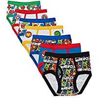 Marvel Boys TBUP5283 7-Pack Superhero Adventures Brief Underwear Underwear - Multi
