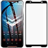 for Asus ROG Phone II Full Coverage Screen Protector Tempered Glass - [2pack] Ultra Thin HD Screen Protective Film for Asus R