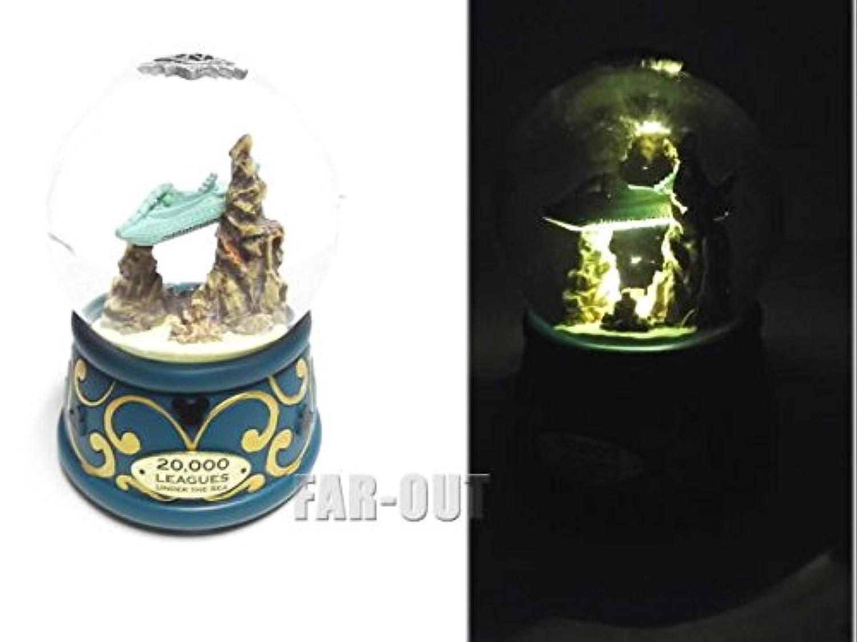 海底2万マイル ノーチラス号 潜水艦 スノードーム ライトアップ ディズニーテーマパーク限定