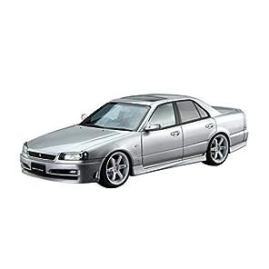 青島文化教材社 1/24 ザ・モデルカーシリーズ SP ニッサン ER34 スカイライン25GT ターボ 2001 カスタムホイール プラモデル