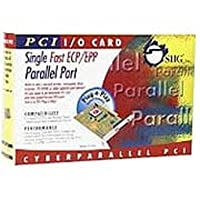 SIIG 2MB 1Par IEEE PCI Hi-Speed Intek 21 Plug and Play Parallel Port [並行輸入品]