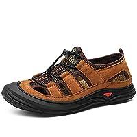 [パルクール] アウトドア陸軍戦術的なブーツ男性トレッキングハイキングシューズ滑り止め軍事砂漠の戦闘ブーツ登山靴 24.5cm 褐色