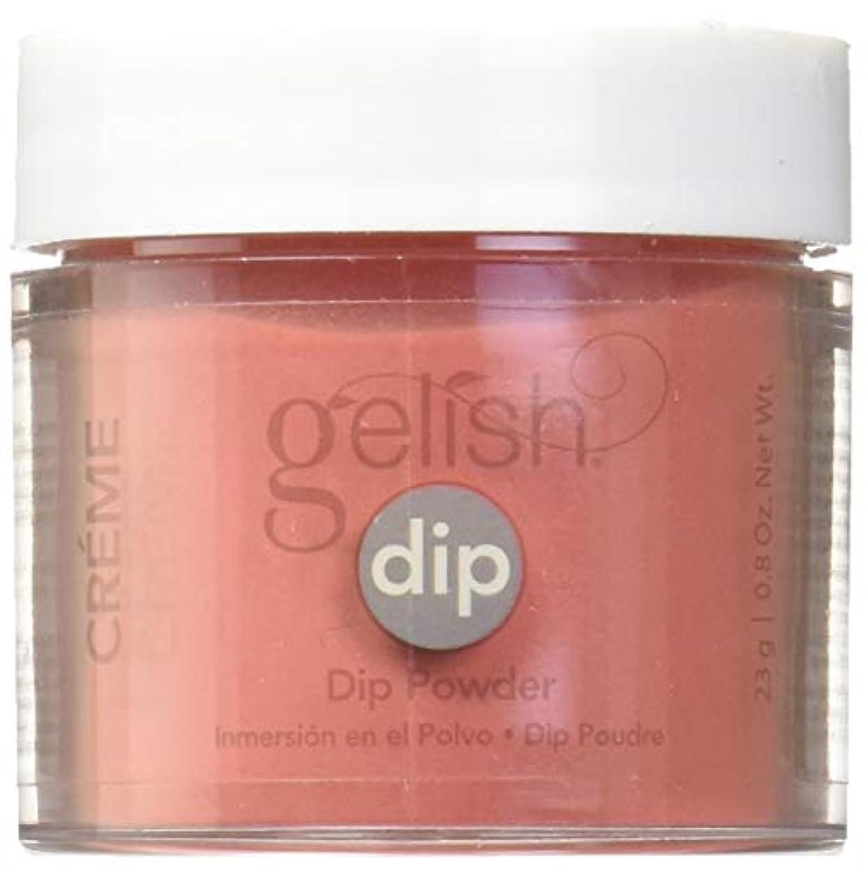 目に見えるおそらく前部Harmony Gelish - Acrylic Dip Powder - Fire Cracker - 23g / 0.8oz