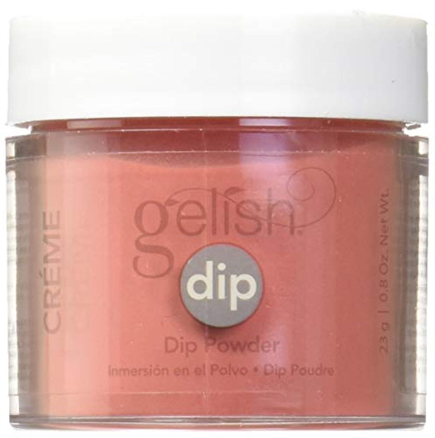 強度再集計批判的Harmony Gelish - Acrylic Dip Powder - Fire Cracker - 23g / 0.8oz
