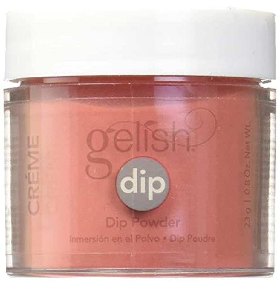 衝突挽くマイクロプロセッサHarmony Gelish - Acrylic Dip Powder - Fire Cracker - 23g / 0.8oz