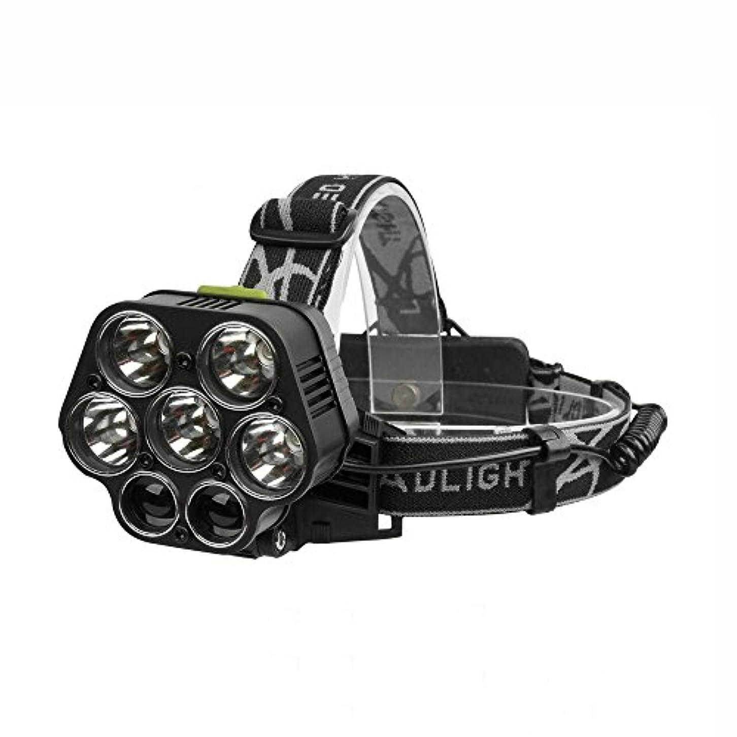 シソーラスアレルギー性スイングXIAOBUDIAN USB充電式クリーXML - 5 * T6 7 LEDヘッドランプヘッドランプ40000ルーメンLED懐中電灯ヘッドライト
