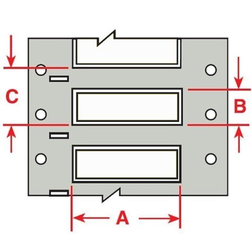 ソート慎重に球状Brady 104661 PermaSleeve Wire Marking Sleeves 1.000 Width x 0.335 Height [並行輸入品]
