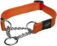 Rogz Obedience Dog Collar, Orange, X-Large