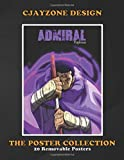 Poster Collection: Cjayzone Design One Piece Anime 4th Admiral Fugitora In Anime &Manga