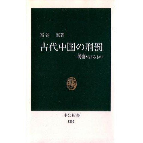 古代中国の刑罰―髑髏が語るもの (中公新書)の詳細を見る