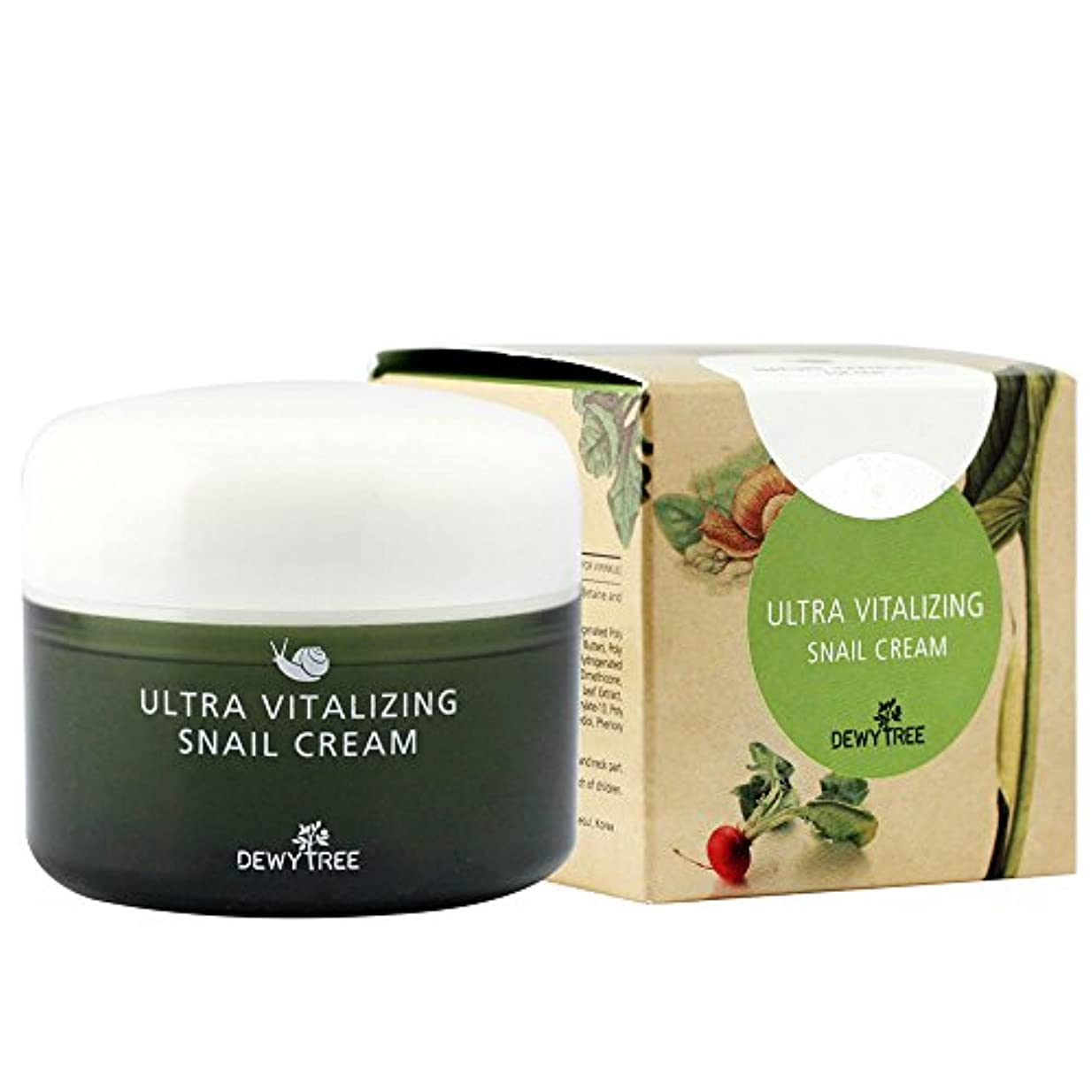 傾向絞るアクションDEWYTREE ULTRA VITALIZING SNAIL CREAM(80ml)