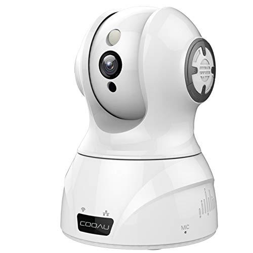 【WiFi強化改良版】COOAU ネットワークカメラ 153...