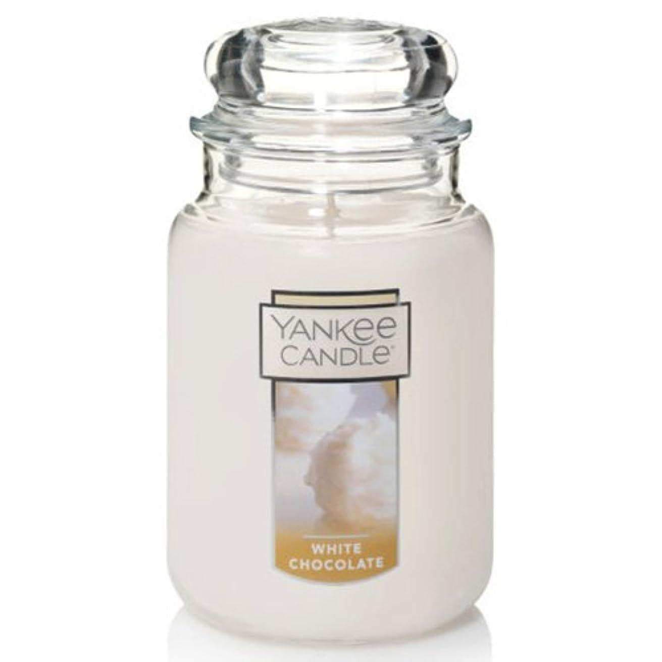 内部共役大胆不敵Yankee Candleホワイトチョコレート