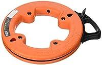 Klein Tools 56005 1/4-Inch Wide Steel Fish Tape 25-Foot [並行輸入品]