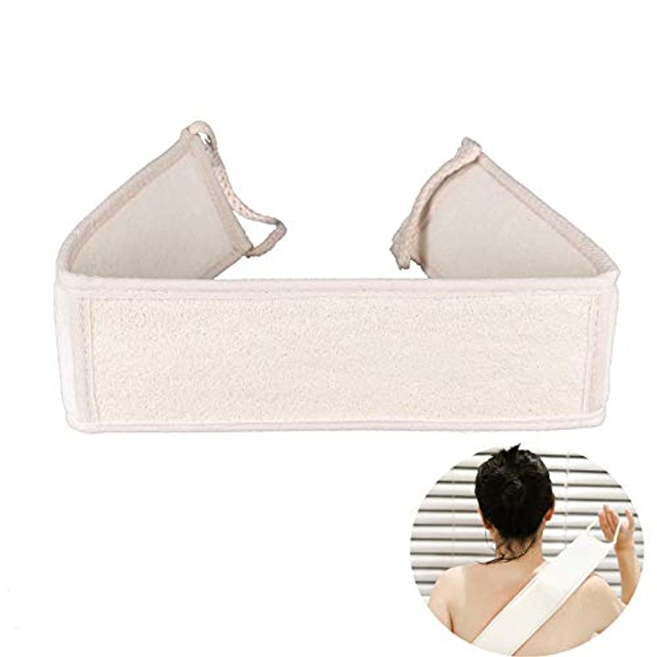 レキシコン連想避難ボディブラシ ロング 背中洗い ナチュラルエクスフォリエーションルーファバックシャワースクラバー、ディープクリーン&エクスフォリエーション、肌の爽快感、健康と美容に良い