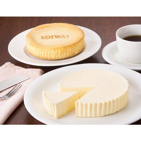 小岩井農場 「チーズケーキ2種食べ比べセット(ベイクド、レア)」