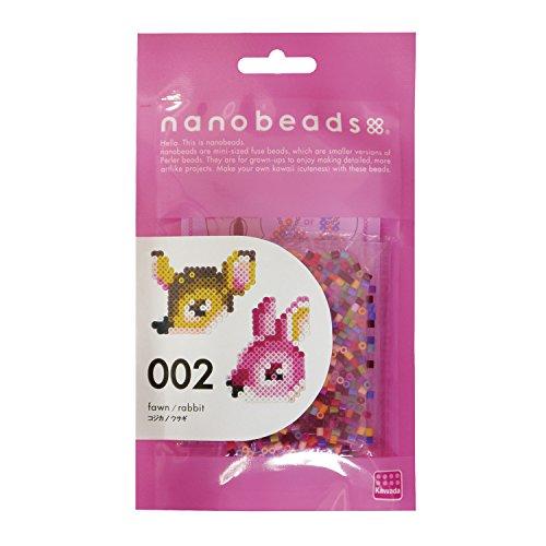 ナノビーズ 002 コジカ/ウサギ 80-63001...