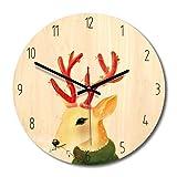 クリエイティブウォールクロックモダンステレオミュートウォールクロックノルディックホームデコレーションクロッククォーツ時計