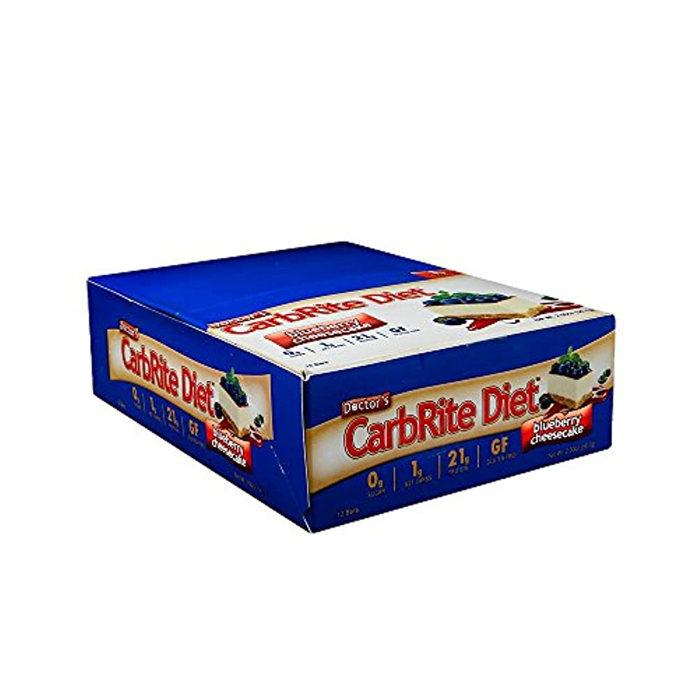 故意のオーブン統治可能Universal Nutrition, Doctor's CarbRite Diet Bar, Sugar-Free, Lemon Meringue, 12 Bars, 2 oz (56.7 g) Each