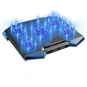 ノートパソコン 冷却パッド 冷却ファン 冷却台 ノートPCクーラー クール 強力冷却 ps3 ps4 冷却 超静音 5段階角度調整 スタンド 折りたたみ 五つ冷却ファン 2口USBポートLED搭載 風量調節可
