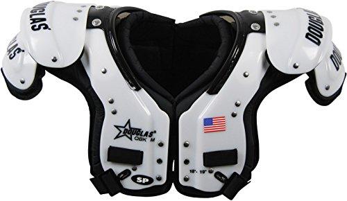 DC - SP QBK Adult Football Shoulder Pads – QB / WR / DB L