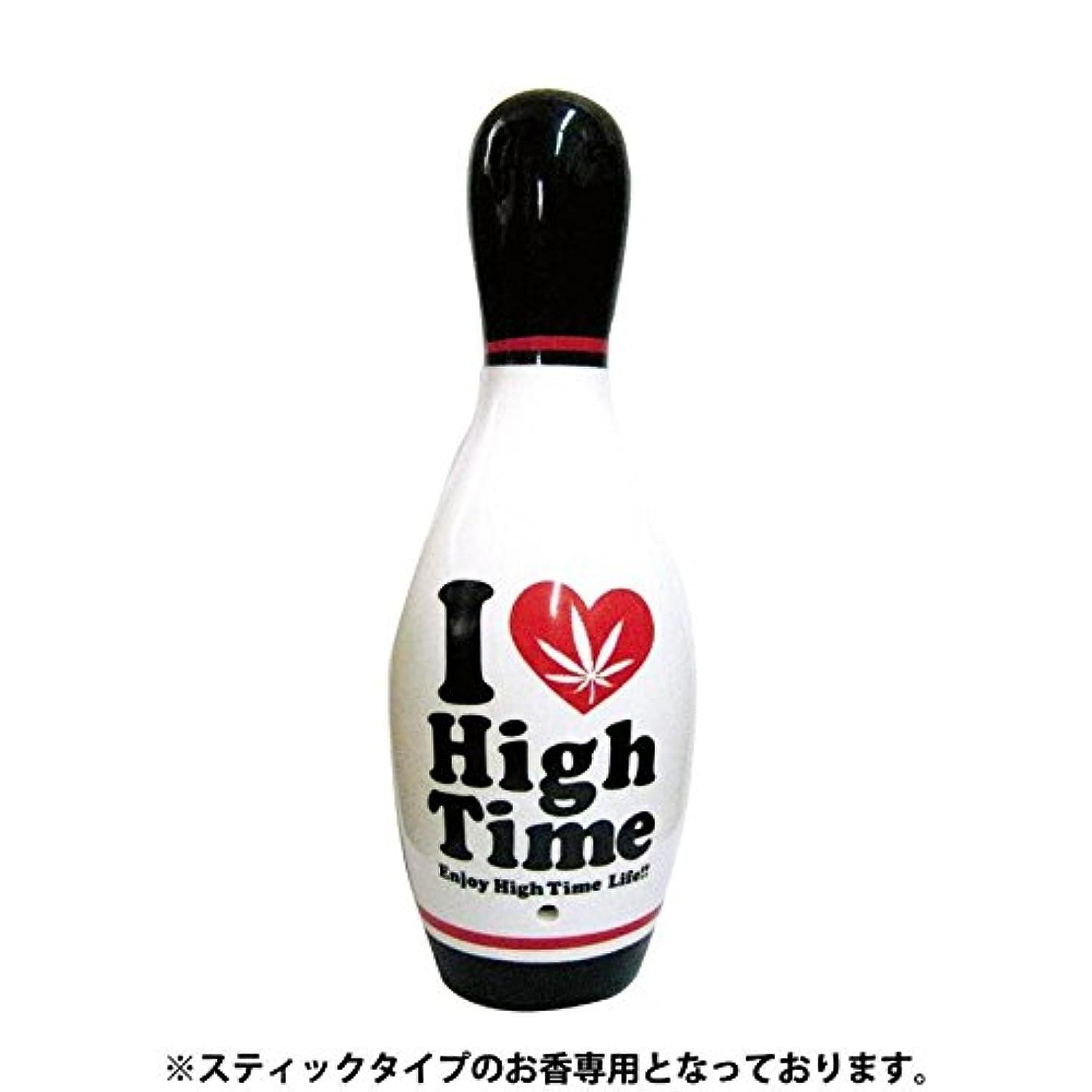 切手お世話になった価値のないI Love High Time ボーリングピン香立て WH ARO-1072