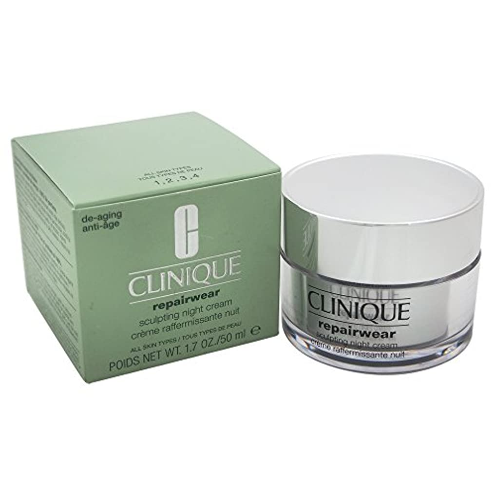 想像力着る神社Clinique Repairwear Uplifting Sculpting Night Cream 50ml [並行輸入品]