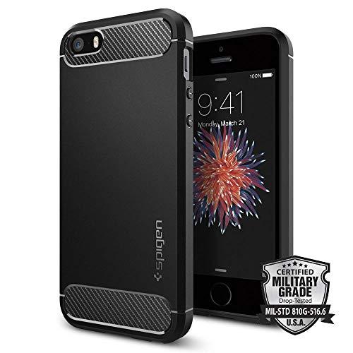 【Spigen】 スマホケース iPhone SE ケース ...