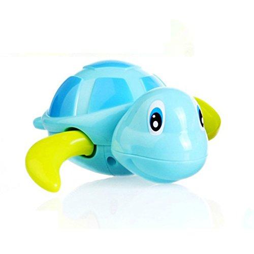 amzmonnsuta カメ おもちゃ お風呂 ゼンマイ 風呂おもちゃ かわいい シャワー 泳ぐ 水遊び 子供 プレゼント ブルー