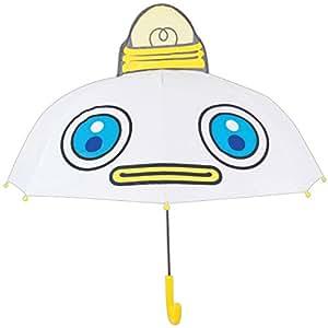 おかあさんといっしょ 長傘 キャラクター耳付き傘 ガラピコぷ~ ガラピコ 8本骨 47cm 19316