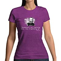 Thunderbolt and Lightning, Very Frightening Me - Womens T-Shirt - 13 Colours
