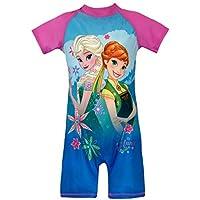 Disney Girls Frozen Swimsuit Blue Size 3