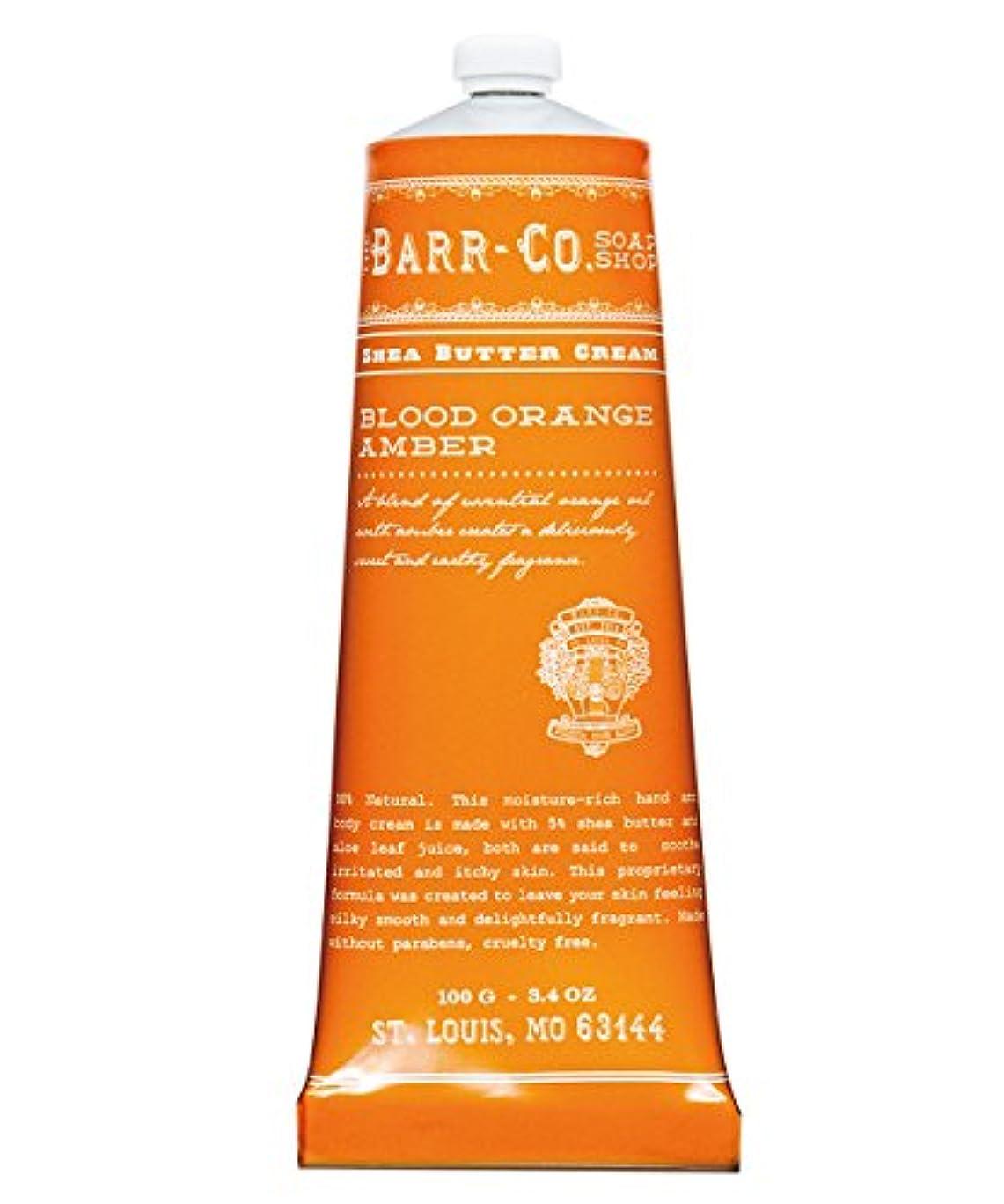 不安定な皿裁定バーコ(BARR-CO.) ハンド&ボディクリーム オレンジアンバー