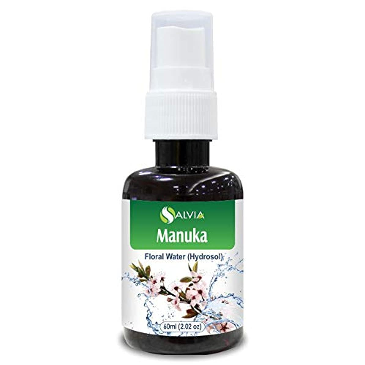 メロディー先入観気楽なManuka Floral Water 60ml (Hydrosol) 100% Pure And Natural