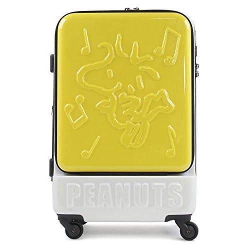 (ピーナッツ)peanuts スヌーピー SNOOPY キャリーケース PN-002 55cm YELLOW-WS