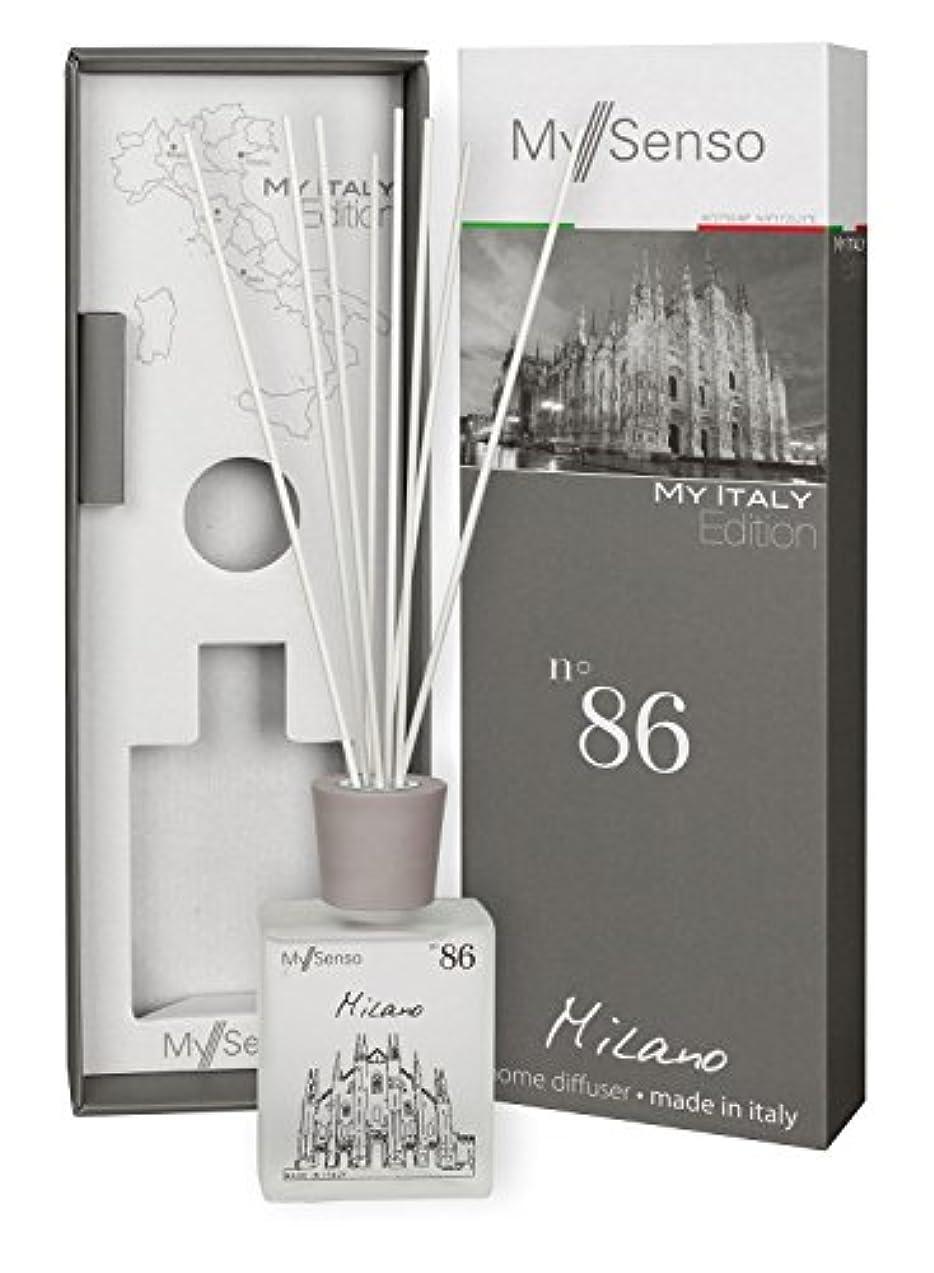 原理決して吐き出すMySenso ディフューザー My Italy Edition No.86 ミラノ