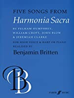 Five Songs from Harmonia Sacra: For High Voice and Harp or Piano