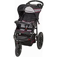 Child Jogger Stroller With Adjustable, Reclining And Padded Seat, Black by Baby Trend