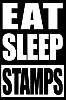 Eat Sleep Stamps | Gift Notebook for Stamp Collectors