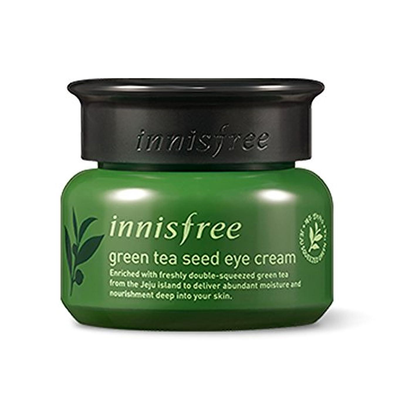 服を片付けるロール鋸歯状イニスフリーグリーンティーシードアイクリーム30ml「2018新製品」 Innisfree The Green Tea Seed Eye Cream 30ml