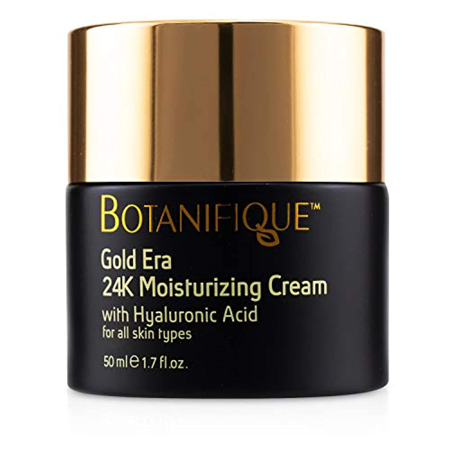 二層苛性守るBotanifique Gold Era 24K Moisturizing Cream 50ml/1.7oz並行輸入品